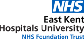 East Kent Hospitals University Logo